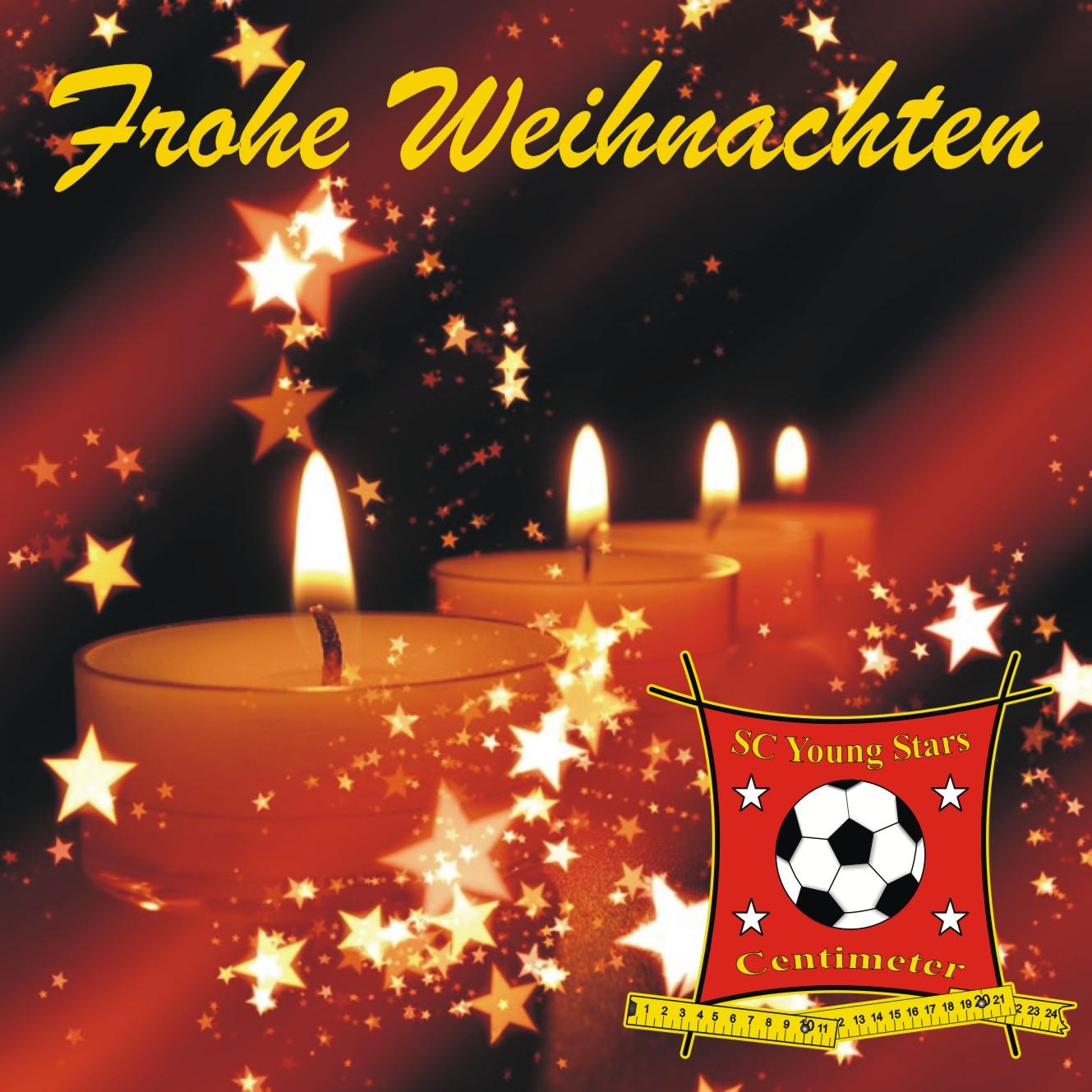 Wir Wünschen Euch Frohe Und Besinnliche Weihnachten.Frohe Weihnachten Sc Young Stars